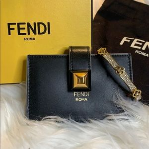 Authentic Fendi Roma Card Holder/Wallet